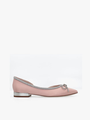 9W951-PNK WOMAN Flats0