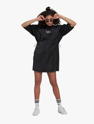 Adidas Women's Lifestyle Tee Dress - Black1