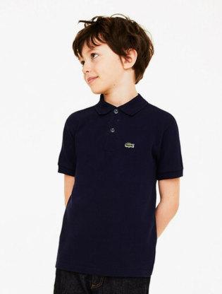 Kids' Lacoste Petit Piqué Polo Shirt0