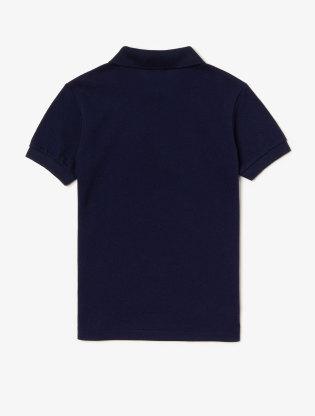 Kids' Lacoste Petit Piqué Polo Shirt2