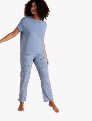 Cotton Polka Dot Pyjama Set0