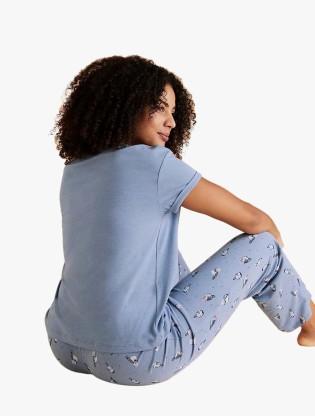 Cotton Polka Dot Pyjama Set1