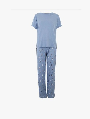 Cotton Polka Dot Pyjama Set2