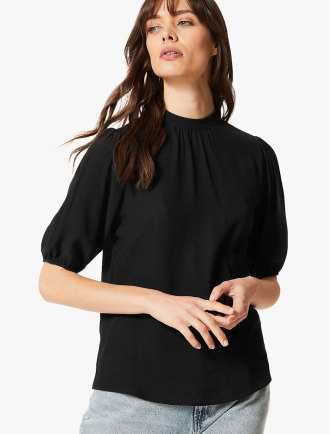 a8855493cb3260 Shop The Latest Tops For Women From MARKS & SPENCER on Mapemall.com