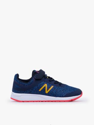 New Balance Kids 455 V2 GSYT Boy's Running Shoes - Blue0