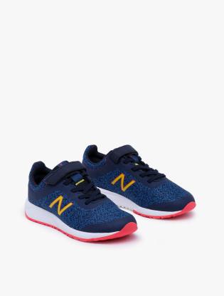 New Balance Kids 455 V2 GSYT Boy's Running Shoes - Blue1