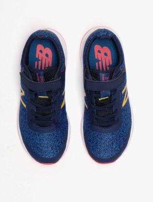 New Balance Kids 455 V2 GSYT Boy's Running Shoes - Blue2
