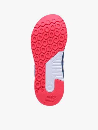 New Balance Kids 455 V2 GSYT Boy's Running Shoes - Blue4