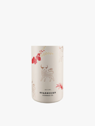 Starbucks Waterbottle Stainless Steel  20ss Ox And Flower S11119407  ( Water Bottle Hot / Cold )1