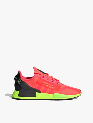 Adidas NMD_R1 V2 Men's Sneakers Shoes - Signal Pink/Signal Pink/Signal Green0