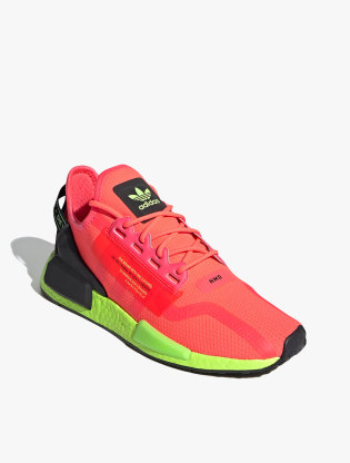 Adidas NMD_R1 V2 Men's Sneakers Shoes - Signal Pink/Signal Pink/Signal Green1