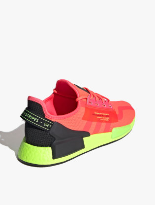 Adidas NMD_R1 V2 Men's Sneakers Shoes - Signal Pink/Signal Pink/Signal Green2