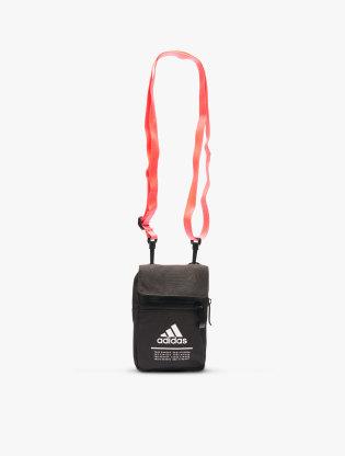 Adidas Men's Classic Organizer Bag - Black/Signal Pink0
