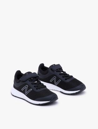 New Balance Kids 455 V2 GSYT Boy's Running Shoes - Black1