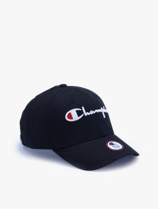 Champion Unisex Classic Twill Hat - Black1