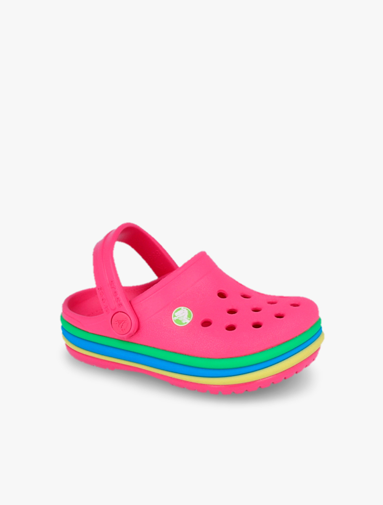 445fec734249ba Crocs Kids  Crocband Rainbow Band Clogs
