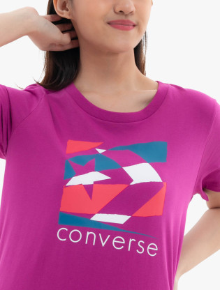 CON TORN CLASSIC TEE (W) C, NO COLOR, XS2