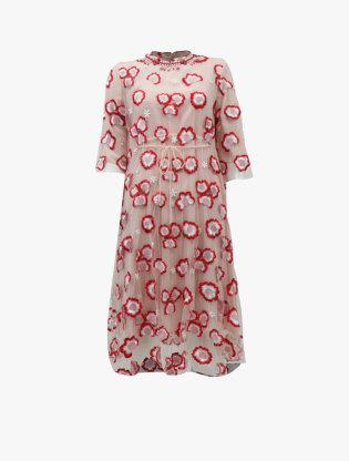 Tulle Midi Dress 3160
