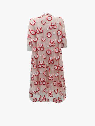 Tulle Midi Dress 3161