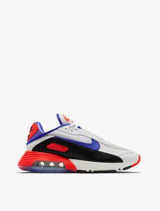 Nike Air Max 2090 EOI Men's Running Shoes - SUMMIT WHITE/RACER BLUE-BLACK0