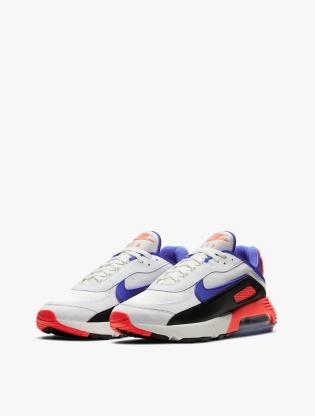 Nike Air Max 2090 EOI Men's Running Shoes - SUMMIT WHITE/RACER BLUE-BLACK2