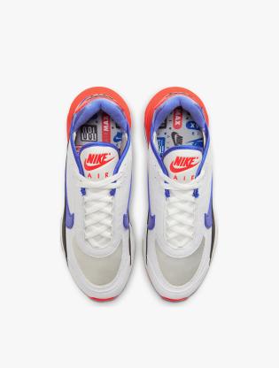 Nike Air Max 2090 EOI Men's Running Shoes - SUMMIT WHITE/RACER BLUE-BLACK4