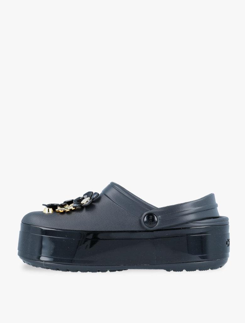 a2f8c79c28d ... Crocs Crocband Platform Metallic Blooms Clog Unisex Sandal. 1234