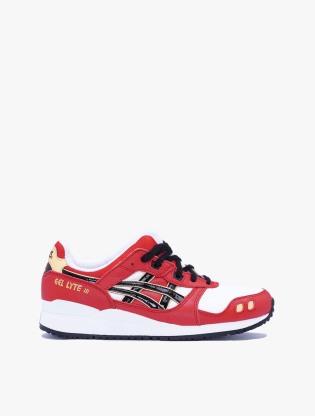 Asics GEL-LYTE III OG Men's Sneakers Shoes - Classic Red/Black0