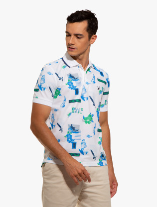 Classic Fit Print Polo1