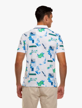 Classic Fit Print Polo2