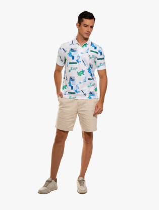 Classic Fit Print Polo4