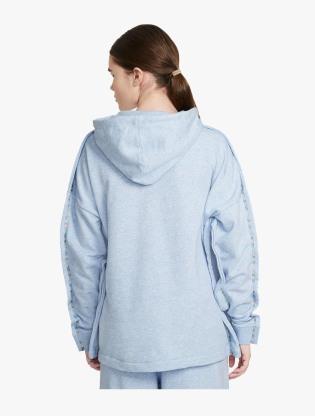 Nike Sportswear Women's Full-Zip Hoodie - LT ARMORY BLUE/HTR/WHITE1