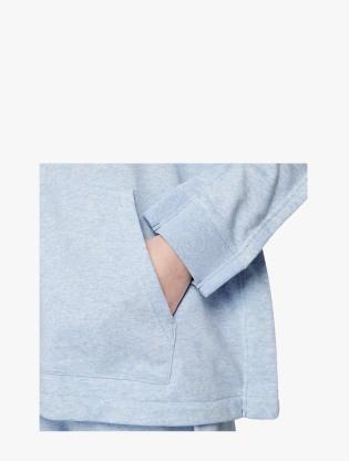 Nike Sportswear Women's Full-Zip Hoodie - LT ARMORY BLUE/HTR/WHITE4