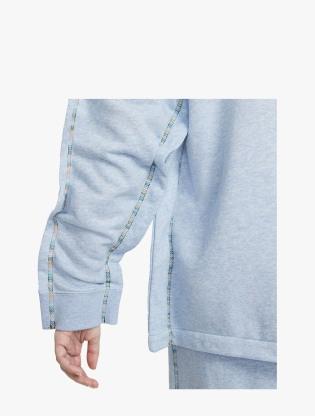 Nike Sportswear Women's Full-Zip Hoodie - LT ARMORY BLUE/HTR/WHITE5