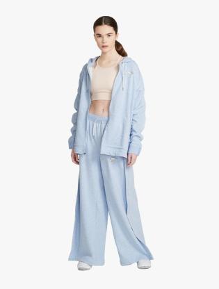 Nike Sportswear Women's Full-Zip Hoodie - LT ARMORY BLUE/HTR/WHITE6