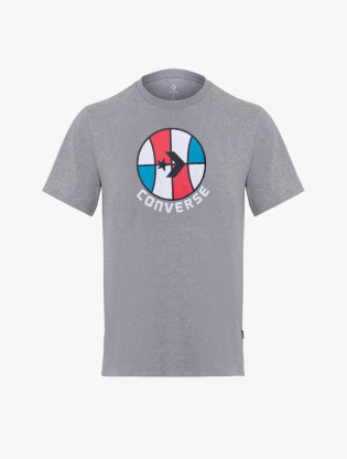 Converse Colorblock Basketball Graphic T-Shirt - Seasonal Tees - Vgh - 10019944-A03 - CON019944A030
