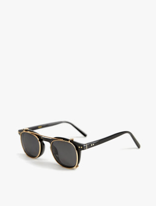 Clip-On Lens Sunglasses1