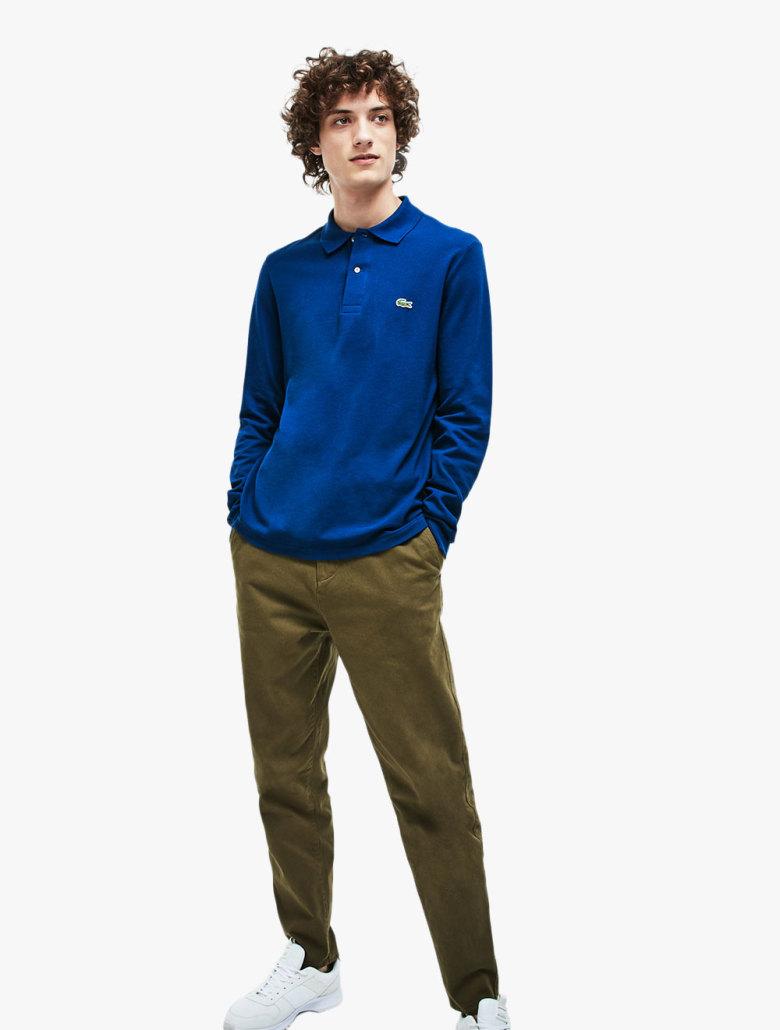 84e631fb7 Long-sleeve Lacoste L.12.12 Polo Shirt