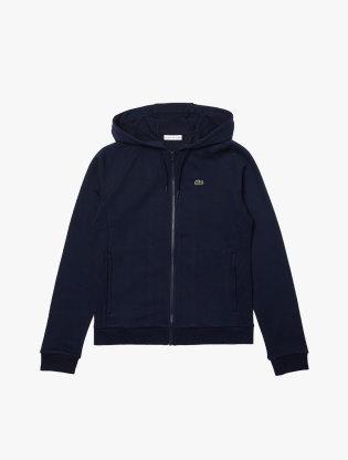 Women's Lacoste SPORT Hooded Fleece Zip Tennis Sweatshirt2