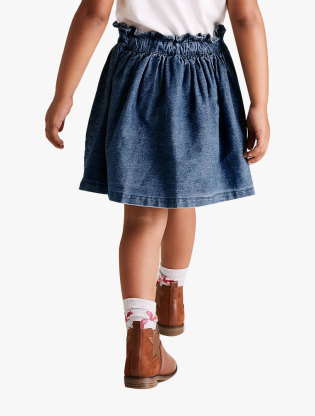 Cotton Animal Applique Skirt1