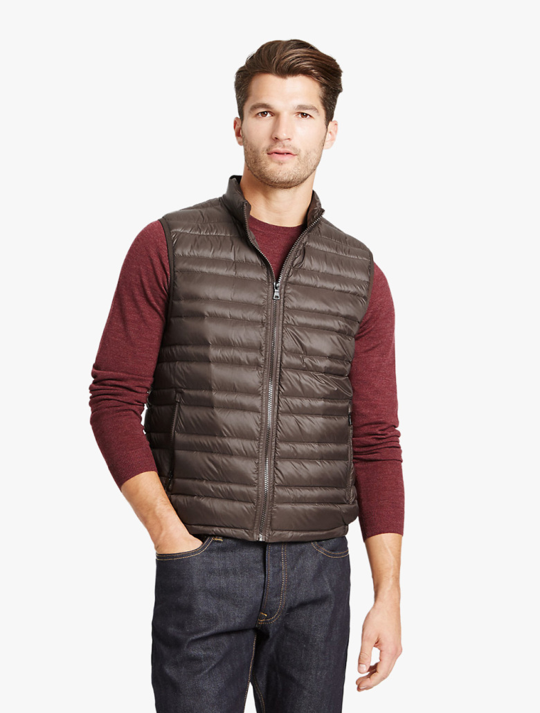 b2302a797b1 Down & Feather Gilet with Stormwear