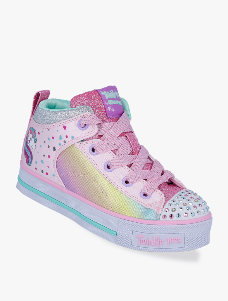 9ea65ce8dc2e Twinkle Toes  Twinkle Lite - Unicorn Chic Girls  Sneakers Shoes
