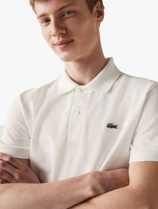 Men's Lacoste Classic Fit Organic Cotton Piqué Polo0