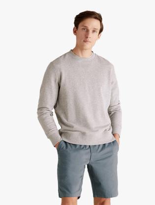 Organic Cotton Elasticated Chino Short0