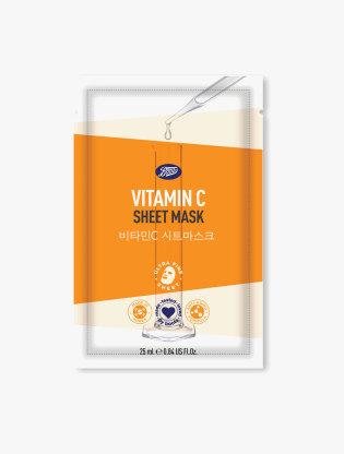 Boots Sheet Mask Vitamin C0