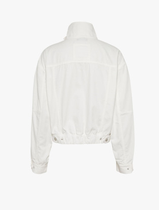 Tommy Badge Canvas Cropped Utility Jacket1