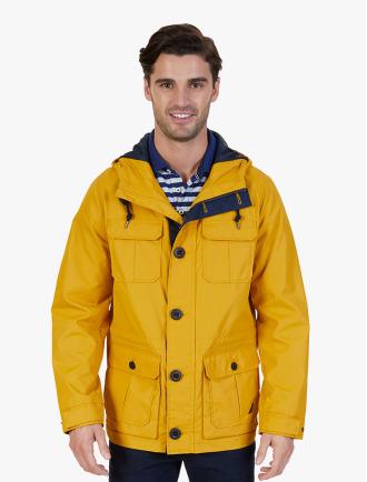 NAUTICA · Lightweight Hooded Nylon Jacket