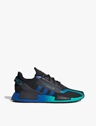Adidas NMD_R1 V2 Men's Sneakers Shoes - Core Black/Blue/Ftwr White0