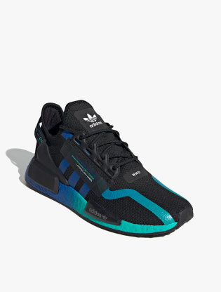 Adidas NMD_R1 V2 Men's Sneakers Shoes - Core Black/Blue/Ftwr White1