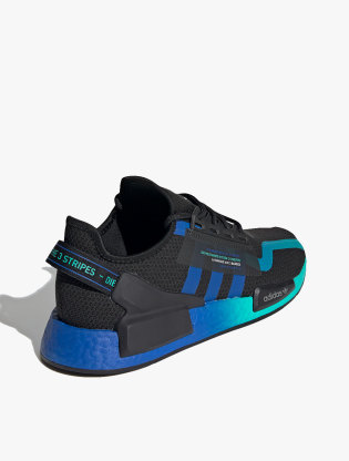 Adidas NMD_R1 V2 Men's Sneakers Shoes - Core Black/Blue/Ftwr White2